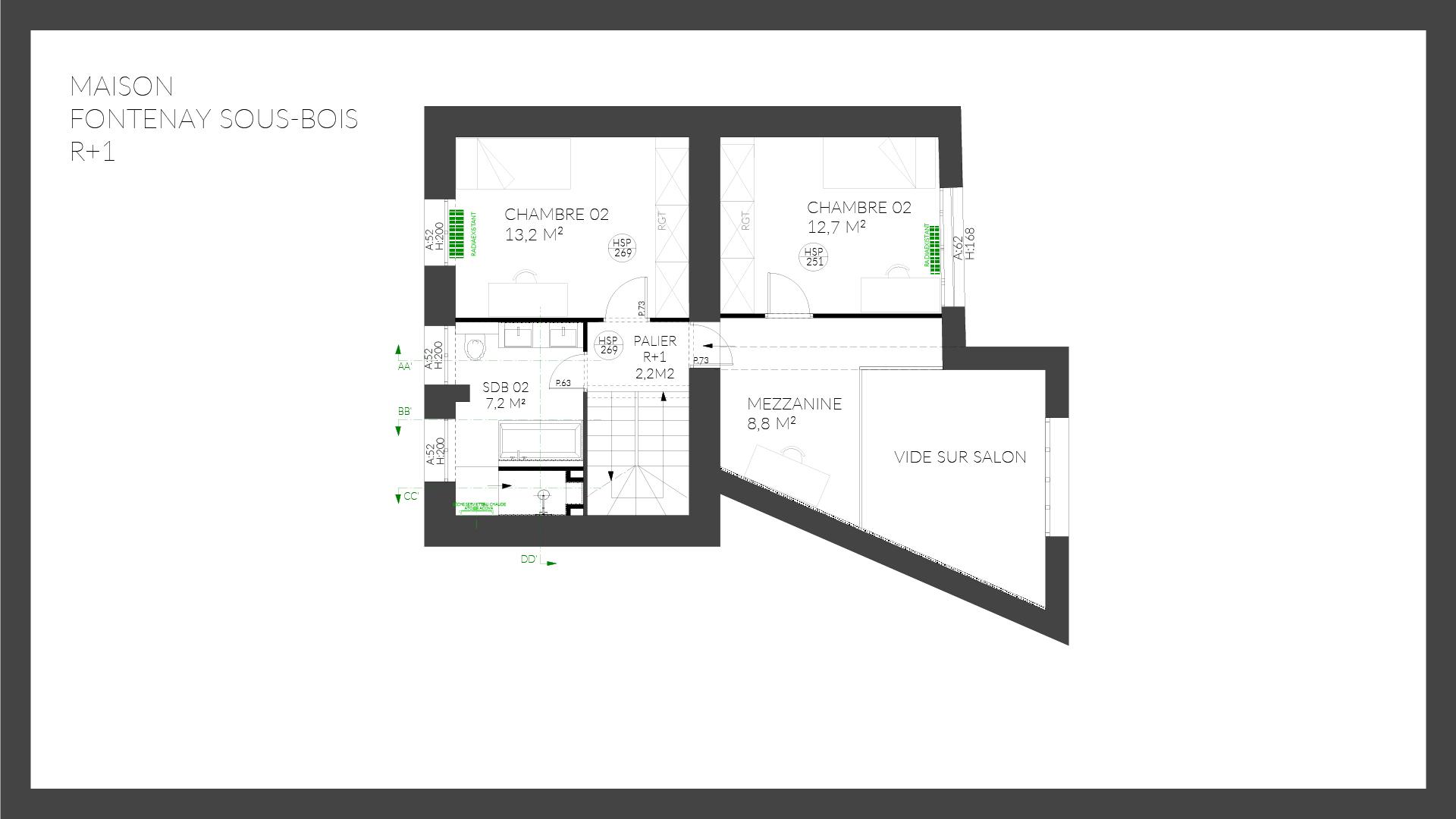 plan fontenay sous bois. Black Bedroom Furniture Sets. Home Design Ideas